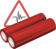 Health Risks Related to Your Vaporizer Battery icon