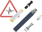 Health Risks Related to the Types of Materials in Your Vaporizer icon