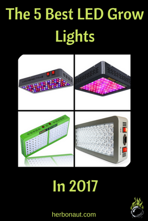5 Best Led Grow Lights In 2017 Maximize Your Yield