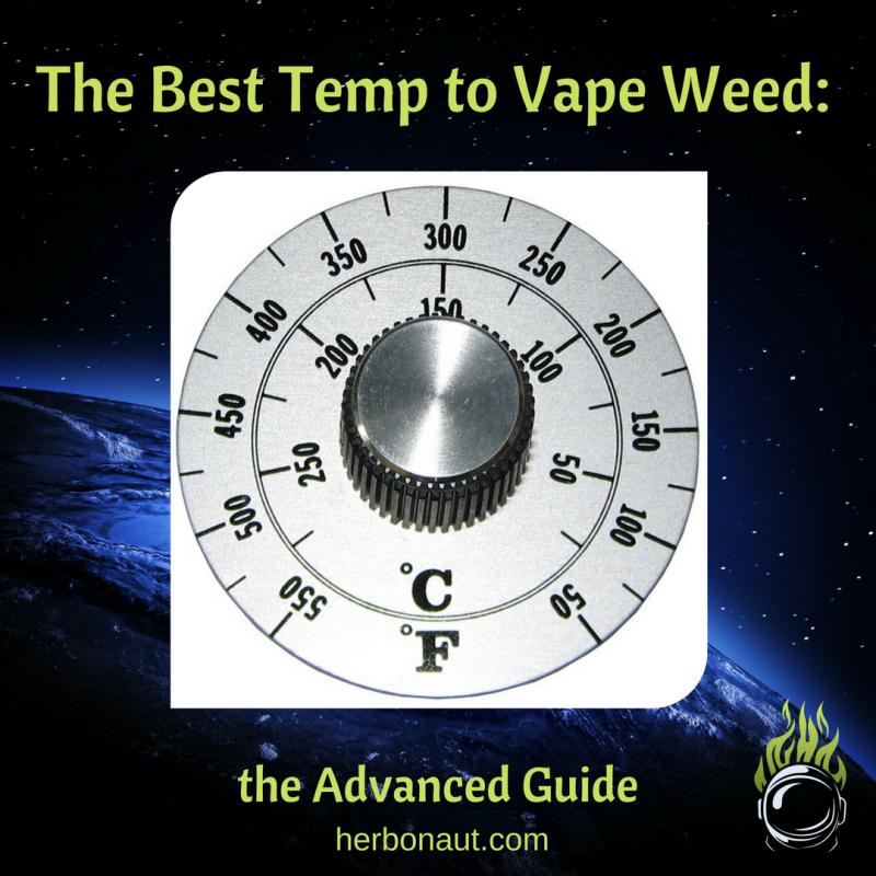 Best Temp to vape weed INSTAGRAM