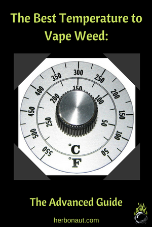 Best Temperature to Vape Weed