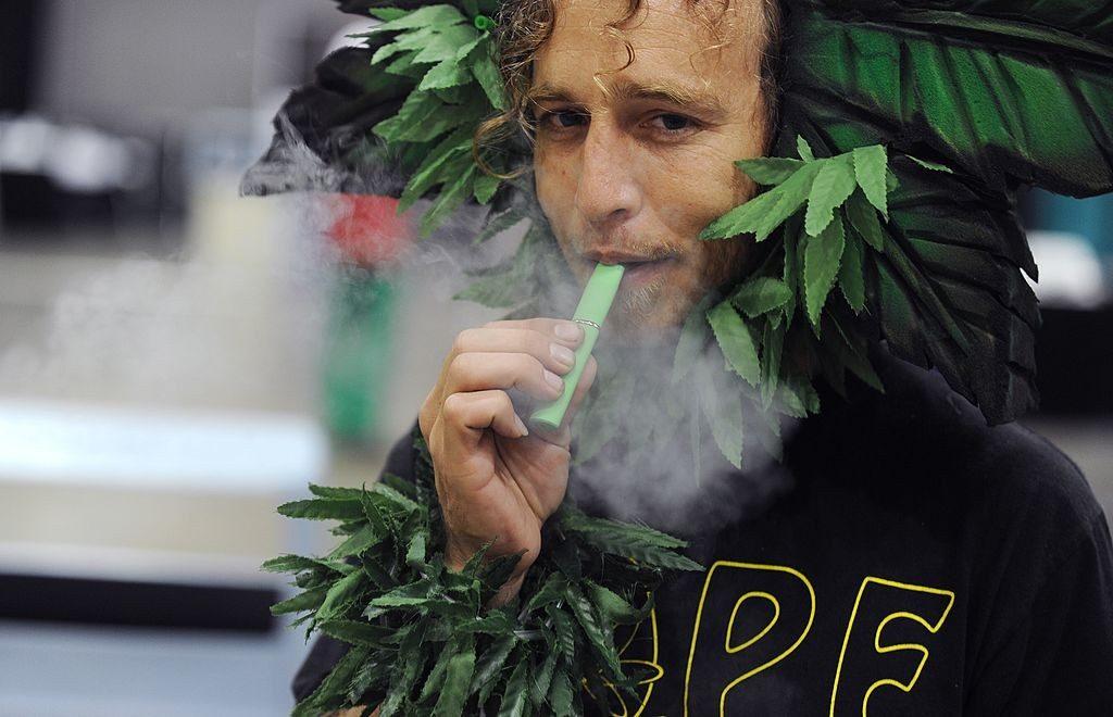 Vaping weed