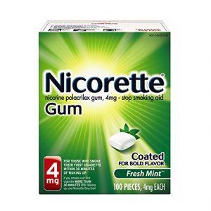 Nicorette Nicotine Gums