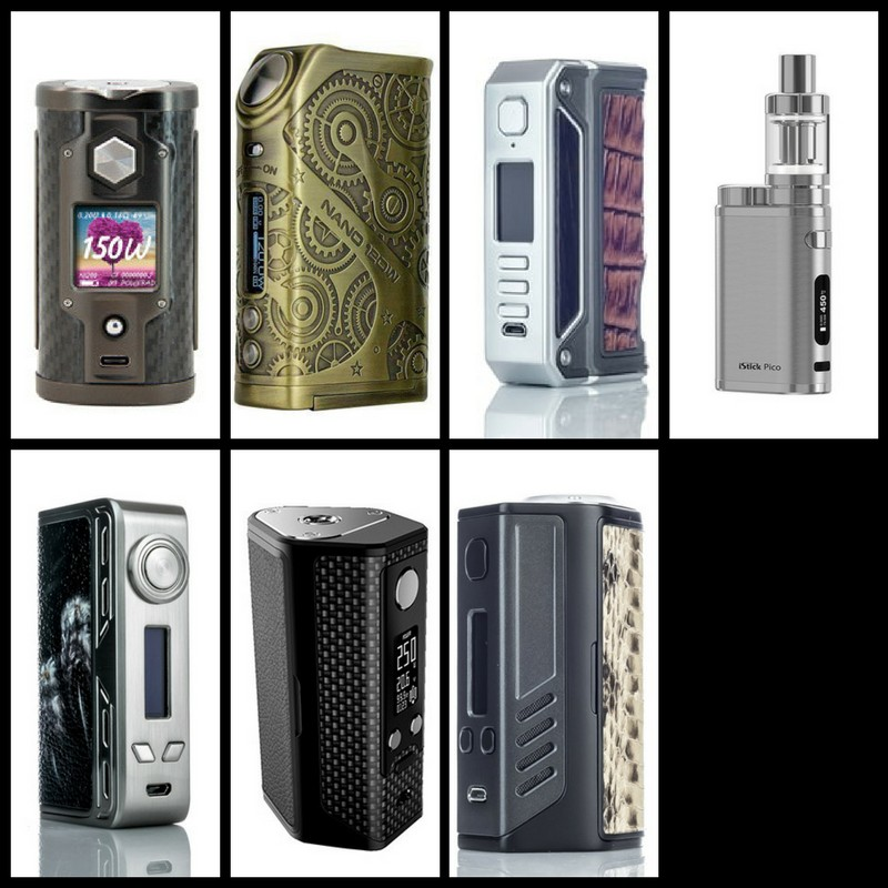 7 Best Box Mods Vape Mods In 2021 Reviewed Compared