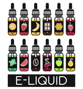 E-liquid flavors