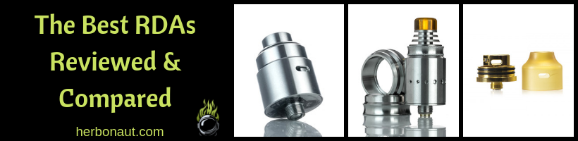 5 Best RDAs in 2019 (For Clouds, Flavor, Squonking, & MTL)