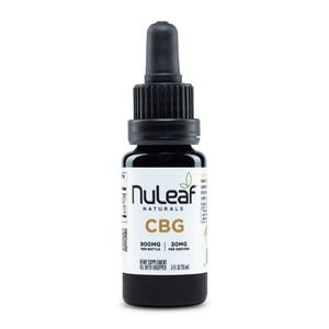 NuLeaf Naturals Full Spectrum Hemp CBG Oil 900mg (60mg/mL)