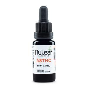 NuLeaf Naturals Full Spectrum Hemp Delta-8 THC Oil 900mg (30mg/mL)