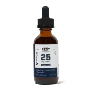 Receptra Naturals Serious Rest Tincture 25mg/Dose