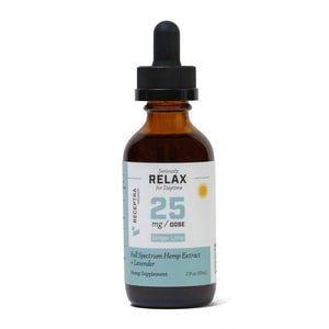 Receptra Naturals Seriously Relax Tincture 25mg/Dose