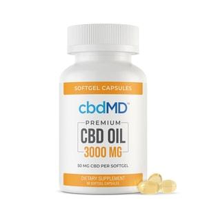 cbdMD soft gels