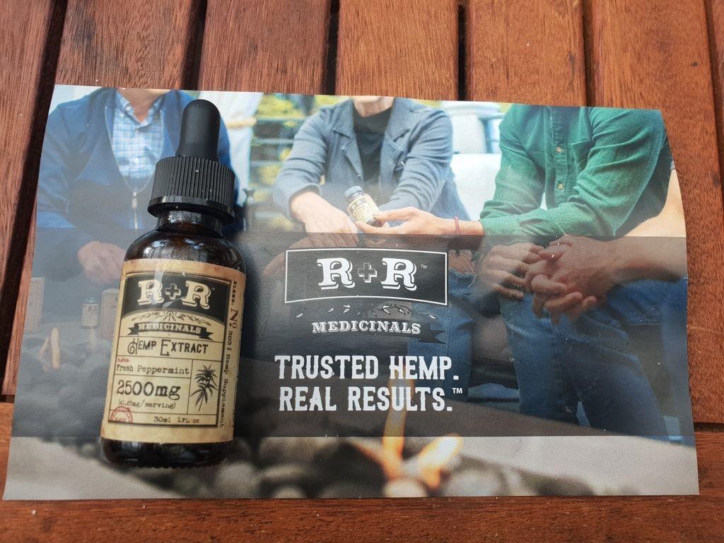 R+R Medicinals 2500mg Tincture