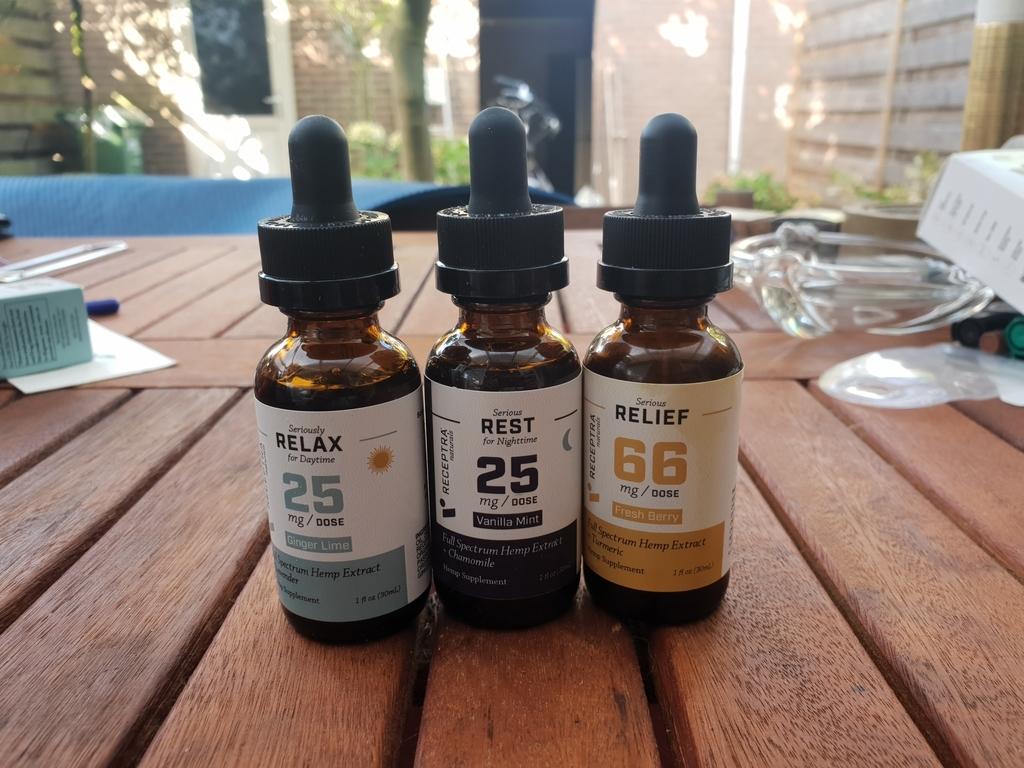 Receptra Naturals CBD Oils