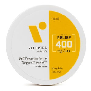 Receptra Naturals Serious Relief + Arnica Targeted Topical