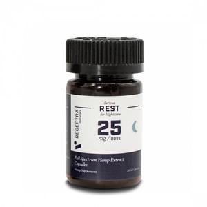 Receptra Naturals Serious Rest Gel Capsules 25mg / 30 Gel Caps
