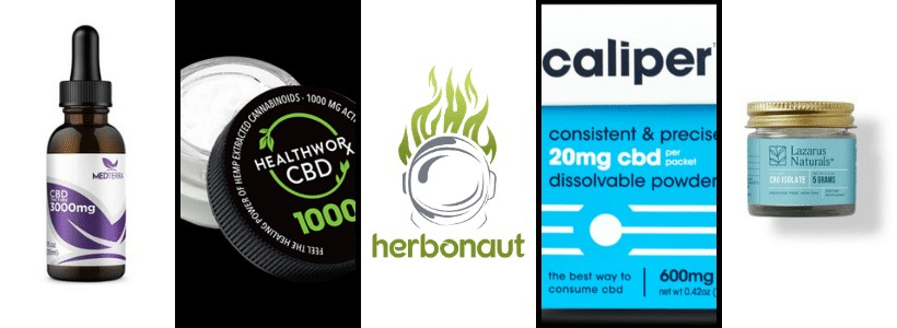 Best CBD Isolate Products New Header