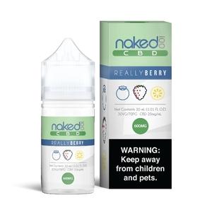 Naked 100 CBD Vape Juice Really Berry