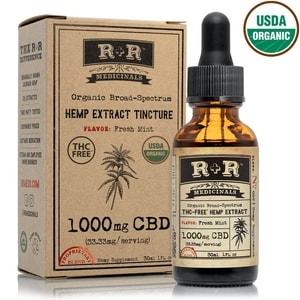 R+R Medicinals THC-Free Tincture